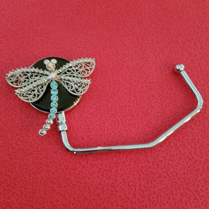 Accessories - Bejeweled Dragonfly Purse Hanger